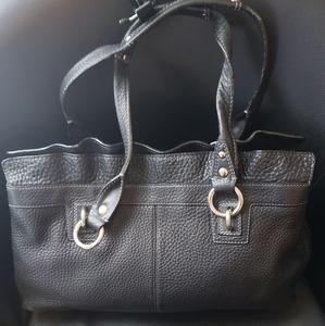 Coach Penelope F14682 Large Pebble Leather Bag